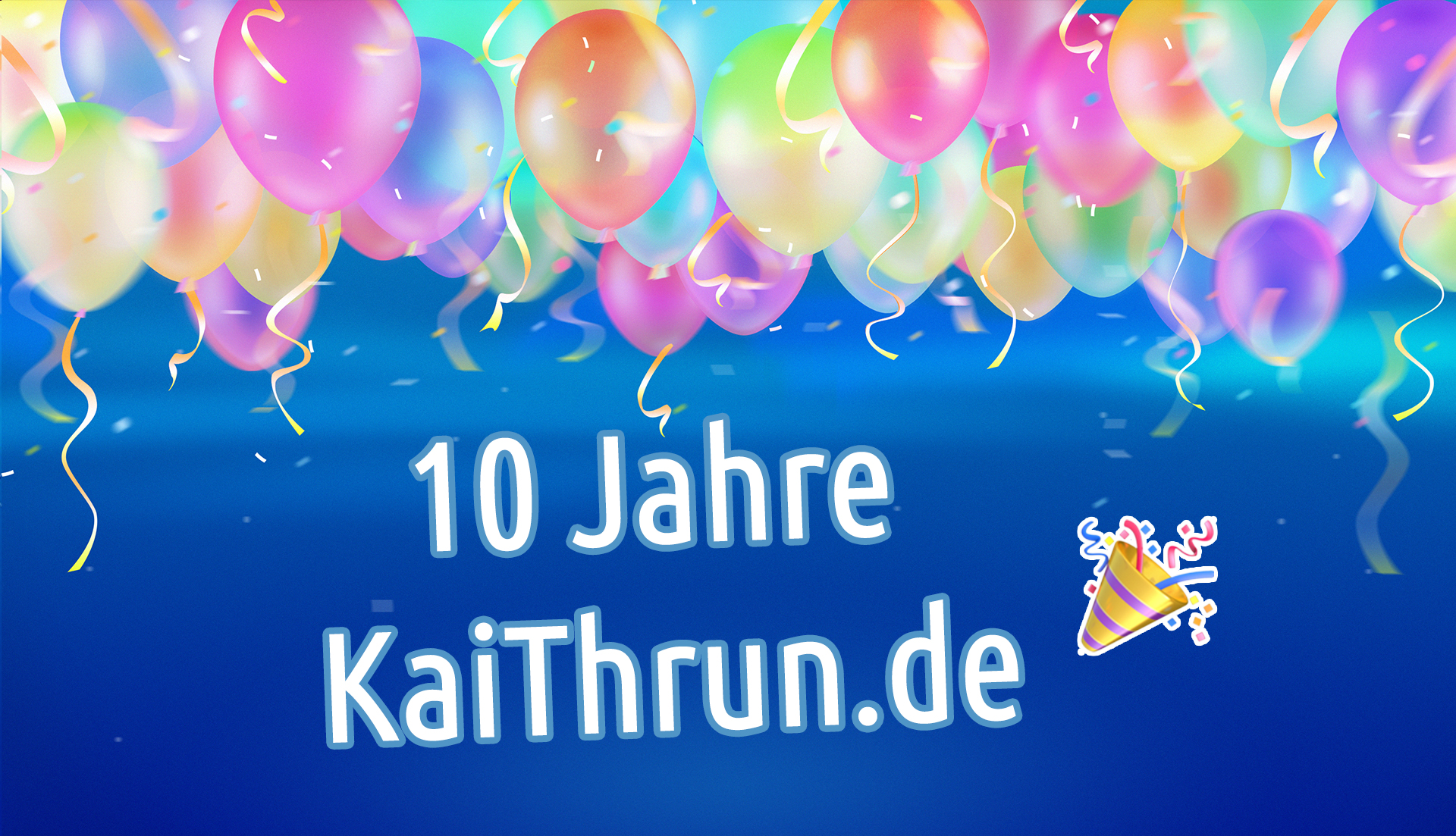 10 Jahre KaiThrun.de