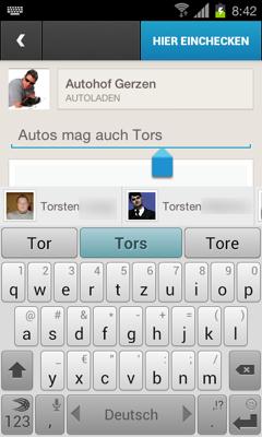 FourSquare Mention