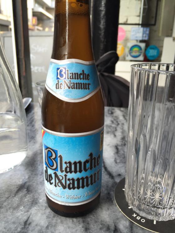 Blanche de Namur, das wohlklingenste Bier im Paris New York