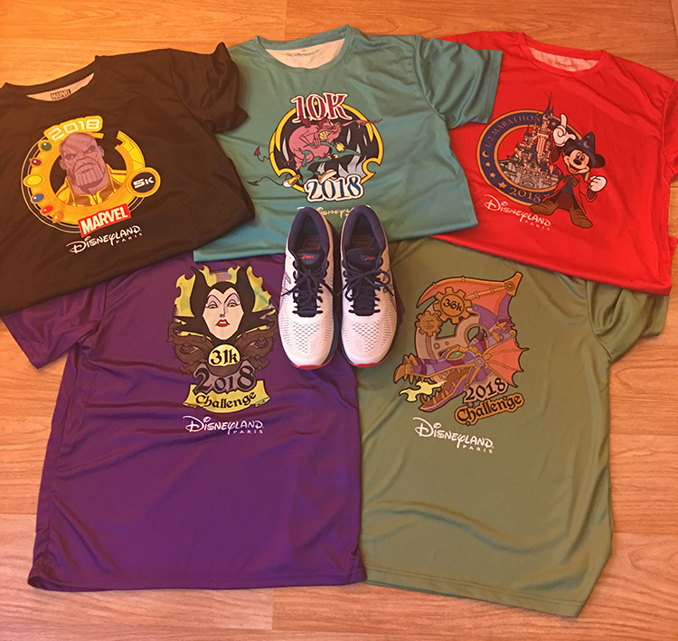 Disney MagicRun Shirts 2018