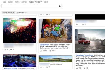 Bing integriert Facebook-Bilder in seine Suche