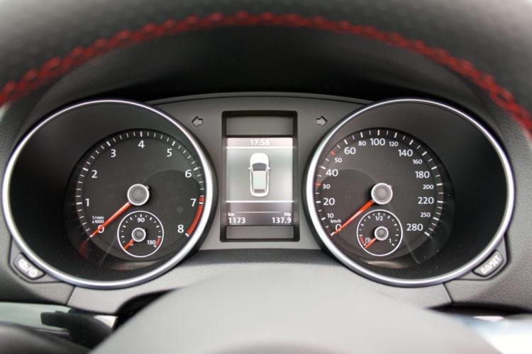 Golf GTI Cabrio Instrumente