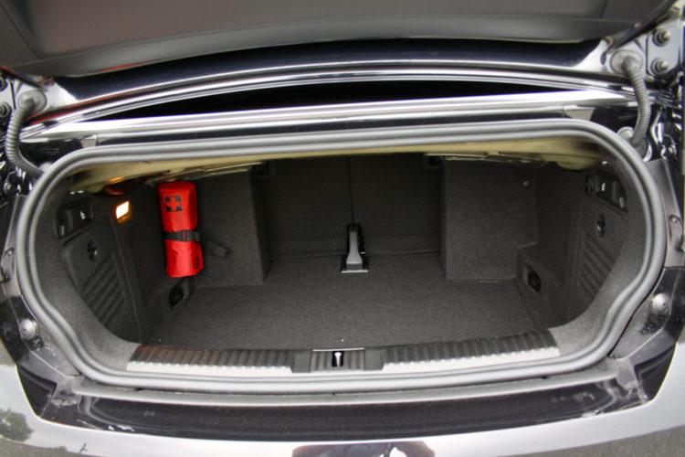 Golf GTI Cabrio Kofferraum