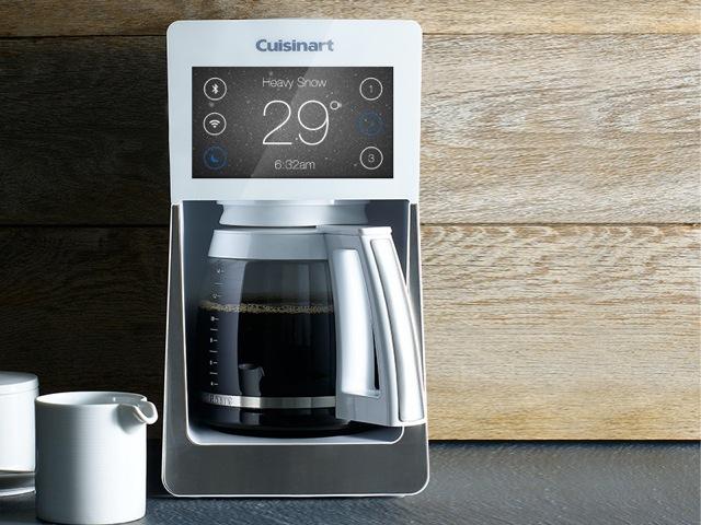 So futuristisch sieht die Kaffeemaschine nicht aus
