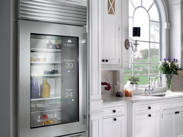 Der Kühlschrank gibt zusätzliche Informationen preis