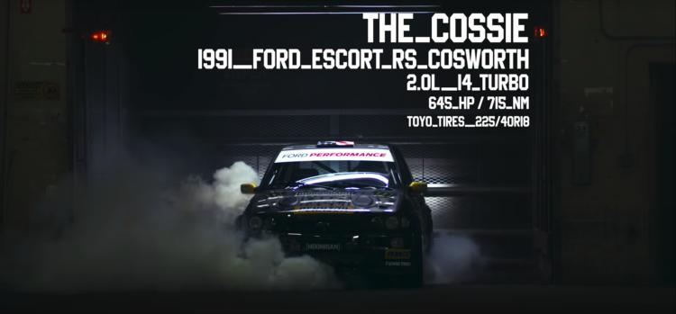 Ken Block Gymkhana Ten Ford Escort Cosworth