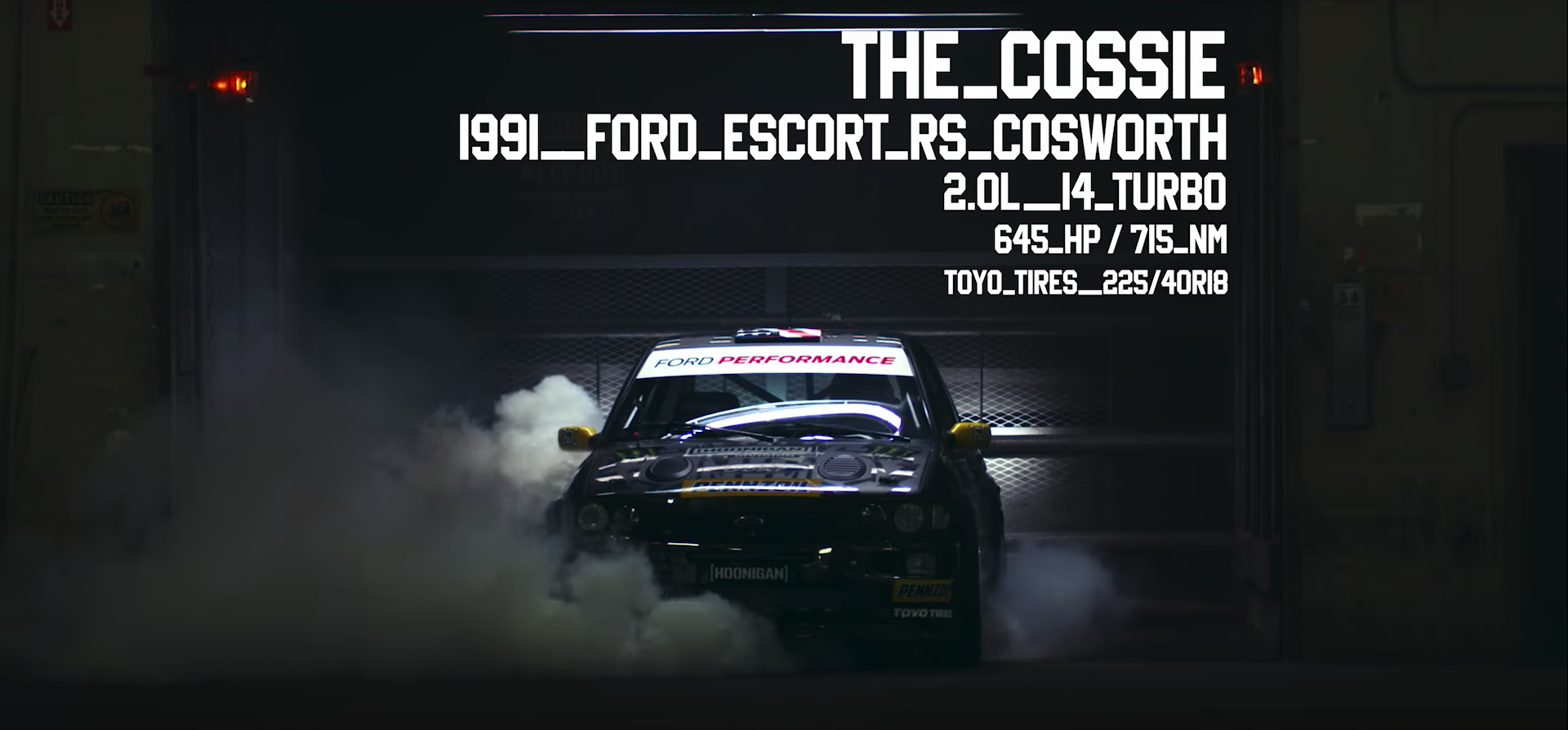 Ken Block Gymkhana Ten Ford Escort Cosworth