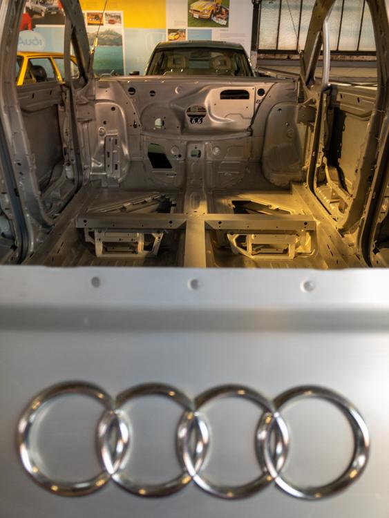 Audi A2 Karosserie war die erste Voll-Aluminium-Karosse