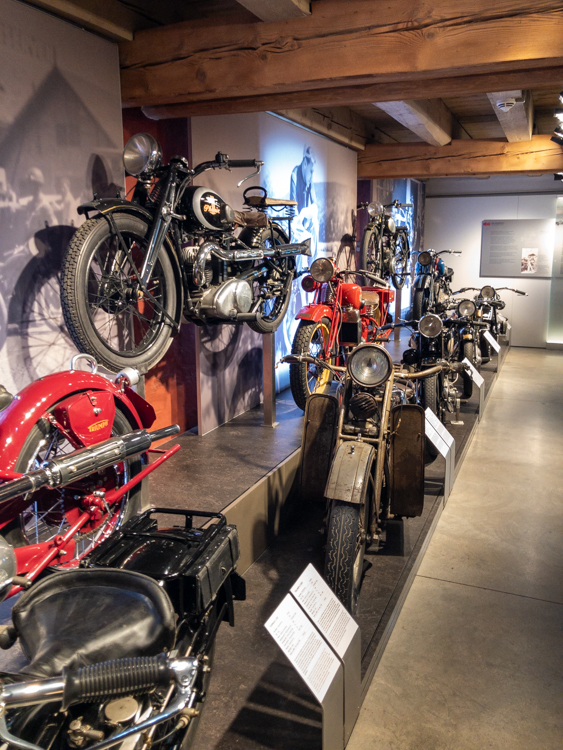 Motorräder spielen eine große Rolle im PS.SPEICHER Einbeck