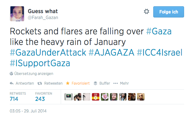 Twitter___Farah_Gazan__Rockets_and_flares_are_falling____