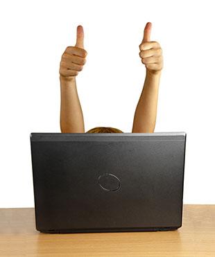 Als Unternehmen muss man sich den Anforderungen des Blogs anpassen