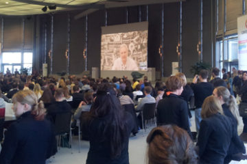 Conventioncamp Opening mit Julian Assange