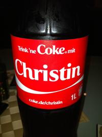 coke christin