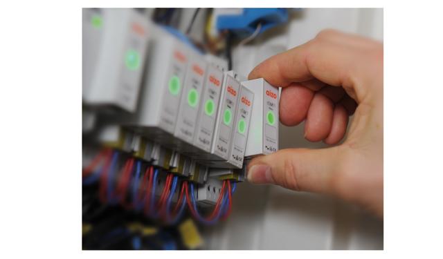 Installiert wird u.a. der Server im Sicherungskasten. Bild: digitalSTROM