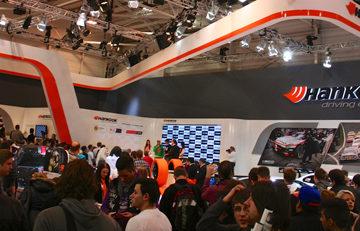 Essen Motor Show Hankook-Stand