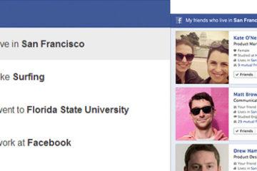 Facebook GraphSearch