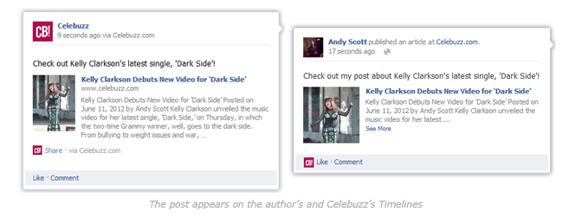 Facebook Wordpress Plugin Artikelansicht