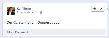 Facebook Mention