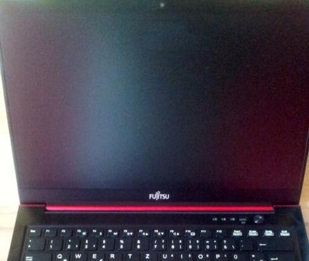 Fujitsu Lifebook U722 Display