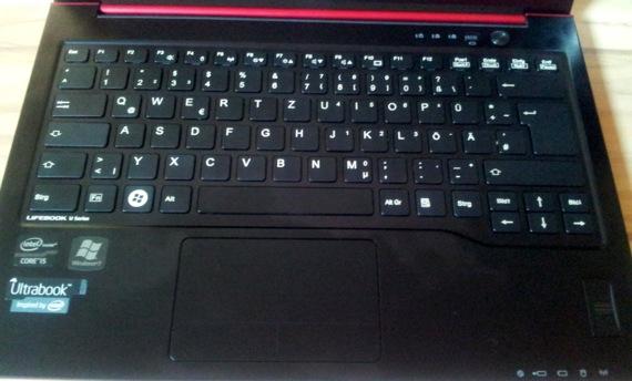 Fujitsu Lifebook U722 Tastatur