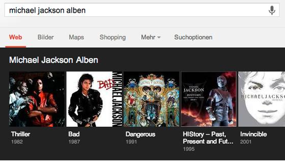 Google Alben