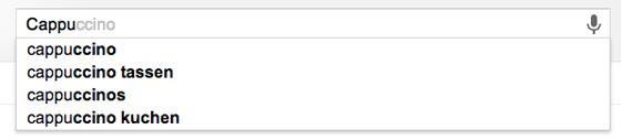 Google Rechtschreibung