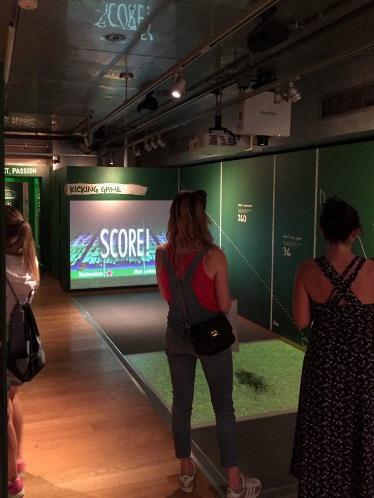 Rugby Beamer-Simulation in Amsterdam