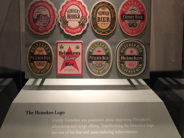 Heineken Bierdeckel Historie