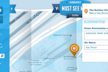 KLM Must see map