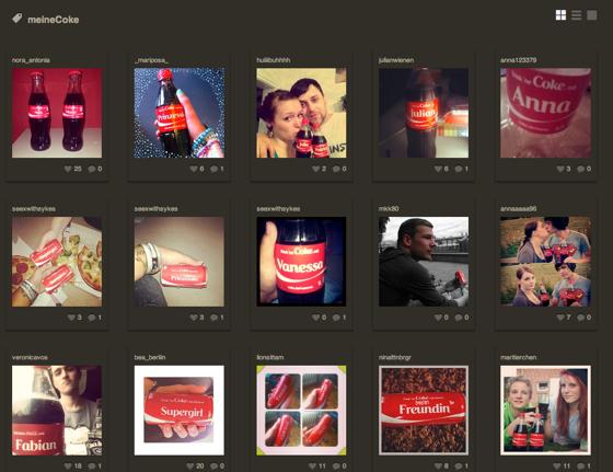 meine coke instagram