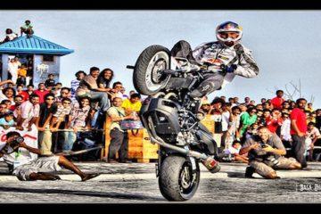 Stunt Motorrad