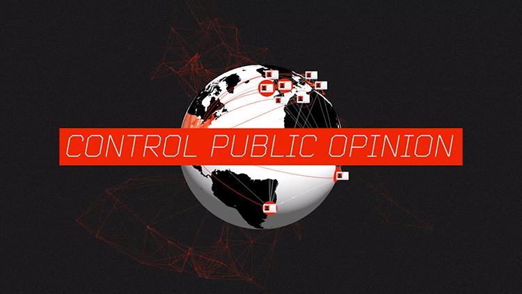 Die Manipulation der öffentlichen Meinung war schon immer ein beliebtes Mittel. Flugblätter braucht man allerdings nicht mehr