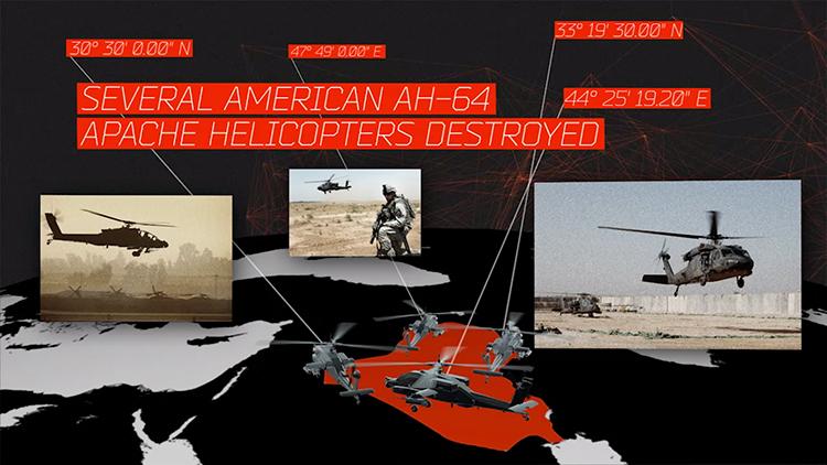 Amerikanische AH-64 Helicopter wurden zerstört - GPS-Daten in den EXIF-Informationen in Fotos bei Facebook machten es möglich