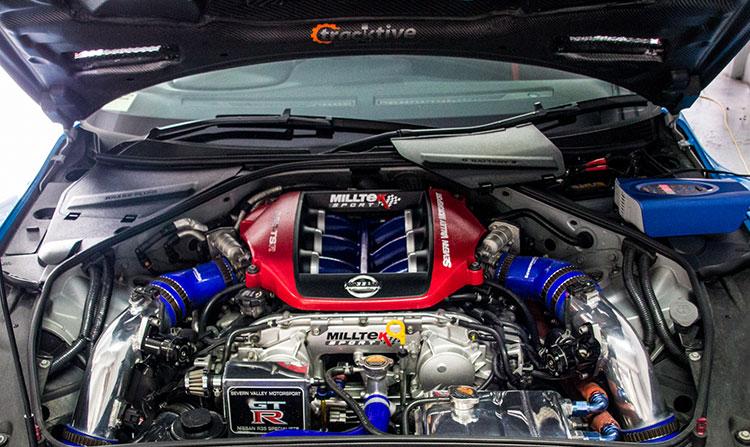 Milltek's GT-R sattelt 900PS