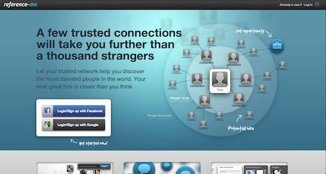 """reference.me: Das """"Kennt jemand jemanden, der jemanden kennt""""-Netzwerk"""