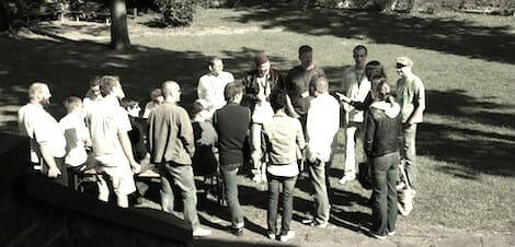 seltene Aufnahme: Internet-Junkies in freier Wildbahn (2010)