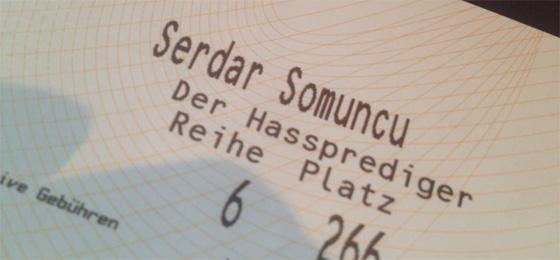 Serdar Somuncu Ticket
