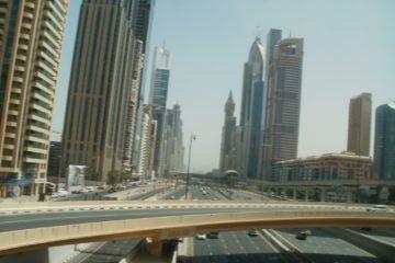 Sheikh Zayed Road Höhe des Finance Center