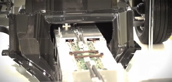 SLS AMG Batterie