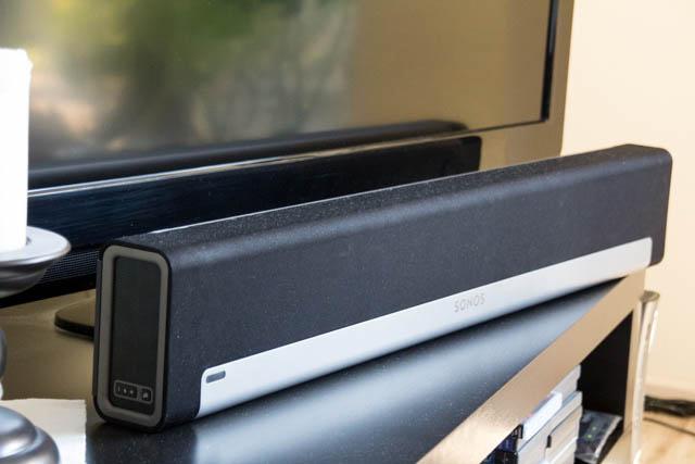 Die Sonos Playbar liefert einen wirklichen sehr klaren Ton und steigert das TV-Erlebnis somit deutlich