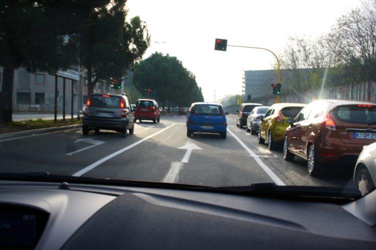 Testfahrt durch Rom