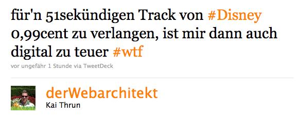 Twitter Hashtag Beispiel