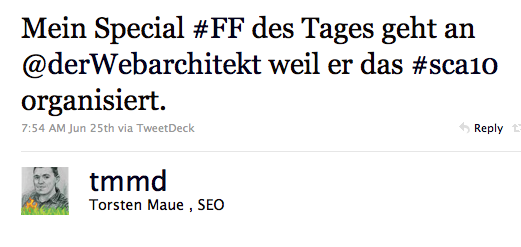 Twitter Haschtags