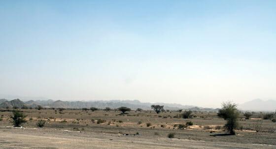 UAE Berge