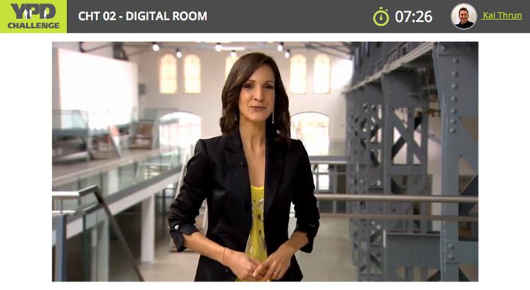 Im Online-Room stellt Barbara Fleissner den Kandidaten die Fragen