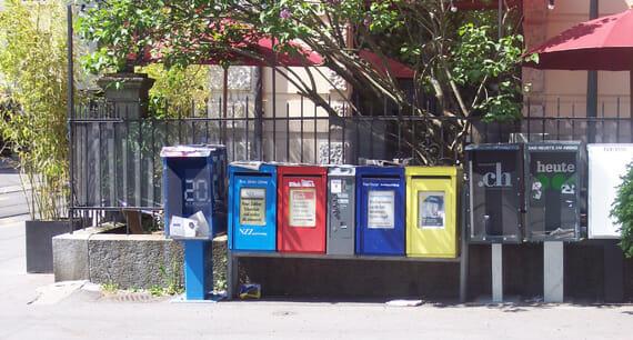 Zeitungskaesten